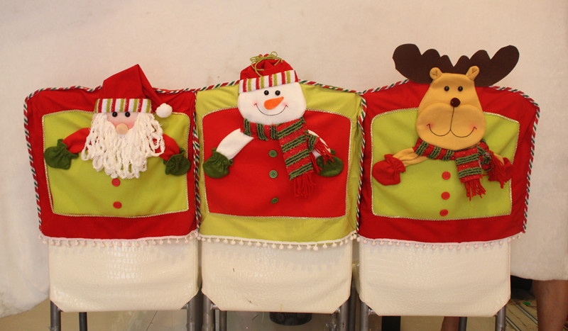 Snowman Santa Claus Elk Chair Stereo Sets Single Package High Size 42 47 Cm Weight About 130 Grams Pcs