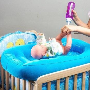 80cm Portable Inflatable Baby Bath Tub Newborn Bathtub Seat Babies Bathing Wash Hair Ass Basin Care #C