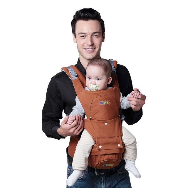 Alta Qualidade bolsa de Ombro Bolsa de Bebê Multifuncional 4 Estações Disponíveis Frente Segurando Bebê Mochila Baby Sling Seguro Tira Da Cintura