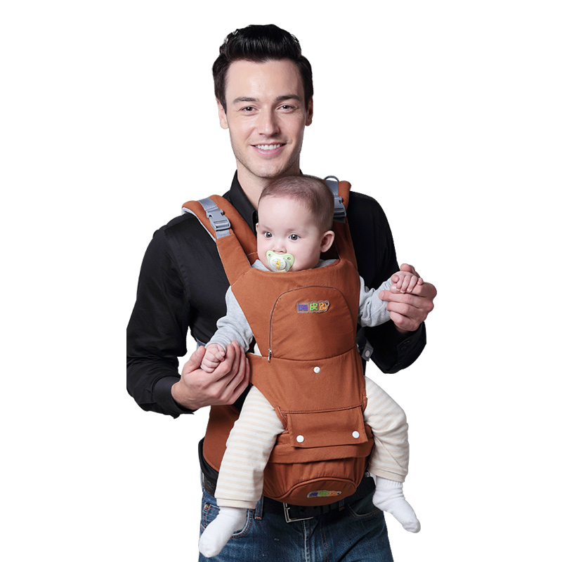 цена на High Quality Multifunctional Baby Shoulder Bag 4 Seasons Available Front Holding Backpack Baby Sling Baby Safe Waist Strap
