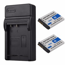 2PCS 1000mAh NP-BD1/NP-FD1 Rechargeable Li-ion Battery + USB Charger for Sony T2 T200 T70 T700 T300T77 T500 T90 T900 TX1 Bateria