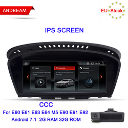 Andream 8,8 Android 7.1 ID6 Interface multimedia player Für BMW Serie 3 5 E90 E60 GPS Navigation WIFI Bluetooth