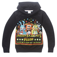 Five Nights At Freddy S Boys Long Sleeves T Shirt Children T Shirts Kids Cotton Boy