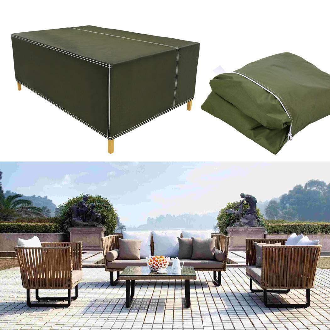 Meubles de Protection de Table de jardin extérieure rectangulaire étanche à la poussière, maison, extérieur, couverture