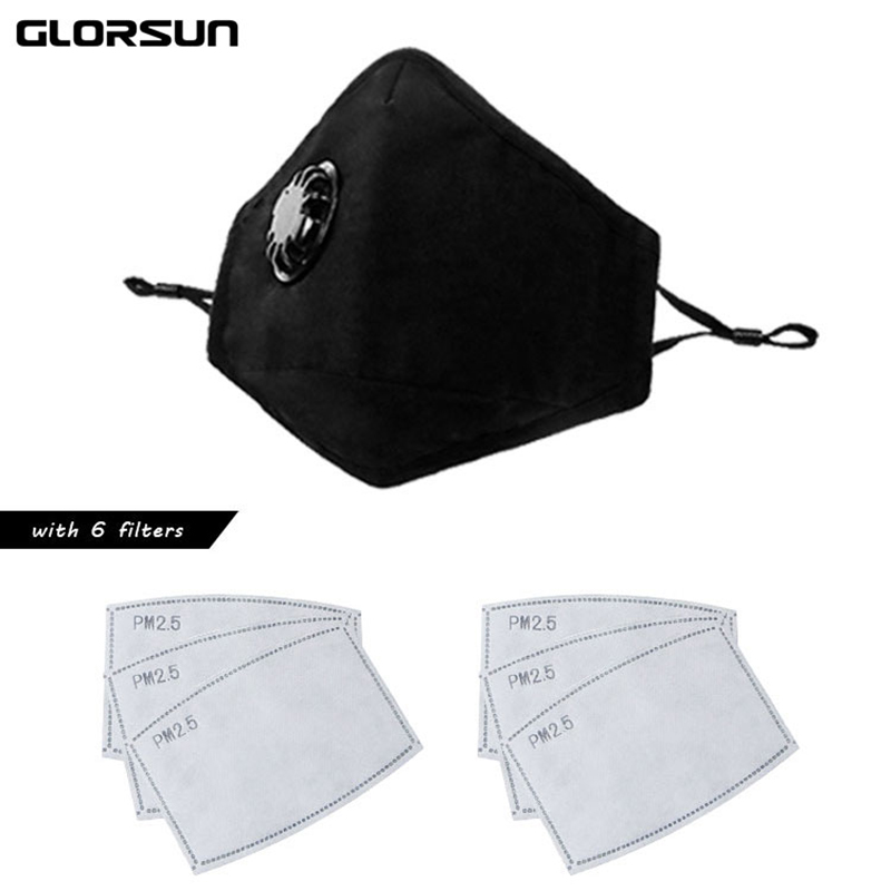 Glorsun Fashion Washable N99 Anti Odor Cotton Pollution Mask Pm2.5 N95 Face Mouth Air Filter Wholesale Anti Odor Smog Dust Mask Back To Search Resultsbeauty & Health Masks