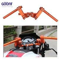 GOOFIT Steering Handle Bar Handlebar Grip for Yamaha BWS125 Honda Ruckus Zoomer NSP50 Motorcycle P038 409