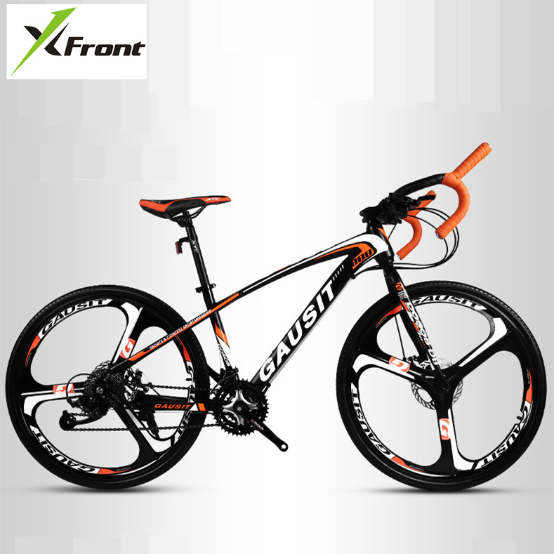 New Brand Road Bike Carbon Steel Frame Patent handlebar Cycling Racing Bicycle SHIMAN0 30 Speed Sports