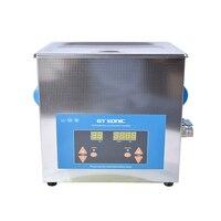 1 шт. цифровой VGT 1990QTD 110/220 В профессиональных ультразвуковых ювелирные чистых ванна бытовые 9L 200 Вт Бесплатная корзина