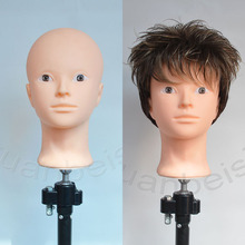 Bald Head Đào Tạo Head cho thực hành trang điểm phụ nữ Mannequin Head for Wig Hat Hiển Thị Với miễn phí đứng Tóc hoàn thiện Tóc Giả đứng