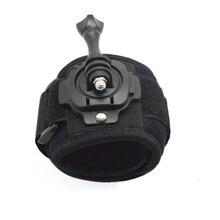 Aksesuarları 360 Derece Için Bilek Dağı Band Kayışı Ve Vida Için SJCAM SJ4000 SJ5000 Xiao Mi Yi Eylem Kamera