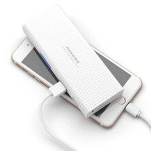 PINENG Portable Puissance Banque 10000 mAh 18650 Powerbank Mobile Chargeur Externe Batterie Chargeur De Secours Pack pour Téléphones Intelligents