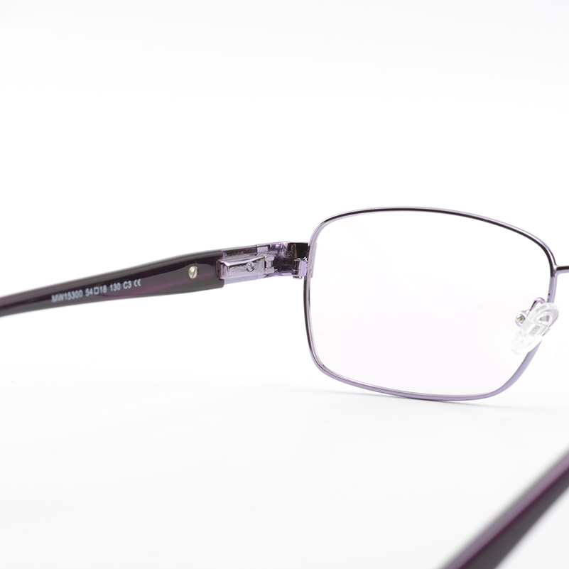 full rim women metal eyewear frames high quality eyeglasses purple frame reading glasses for lady in eyewear frames from womens clothing accessories on - Womens Metal Eyeglass Frames