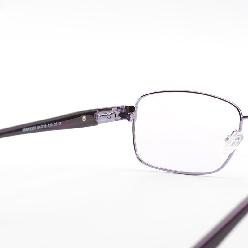 Vollrand Frauen Metall Brillen Hochwertigen Brillen Lila Rahmen ...