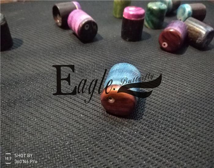 Aigle. Papillon, guitare, basse boutique personnalisée, couleur bois potentiomètre chapeaux personnalisés, en stock - 6