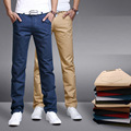 2017 New Arrival Casual Pants Men Regular Fit Extra Thin Material Summer Pants Cool And Breathable 11 Colours Brand Clothing