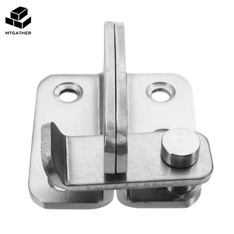 MTGATHER Add Thick Stainless Steel Bolt Buckle To Prevent Theft Door Lock 45mm x 20mm Hot Sale