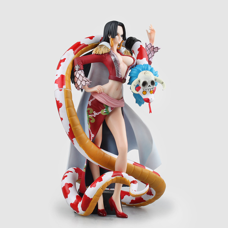 One Piece Boa Hancock Figures Sexy Model Toys One Piece Anime Action Aigures 220mm Boa Hancock Juguetes hancock пиджак