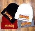 Llama Thrasher Skullies Gorros sombreros para hombres mujeres de la marca nombre diy tapa de invierno hip hop casquette moda de marca gorro masculino