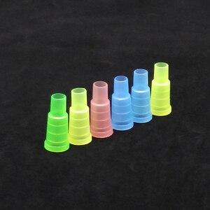 Image 4 - 50 יחידות חד פעמי צבעוני מחזיקי סיגריות לנרגילות, נרגילה, צינור מים, Sheesha, Chicha, פה צינור Narguile אביזרי טיפים SH 302
