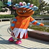 Горячий Новый сад для Маскоты костюм Костюмы, платья для праздников платье