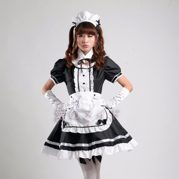 DB23978 sissy maid uniform-9