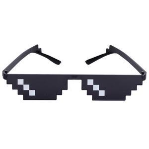Gafas de fantasía 2018, accesorios de fotomatón, gafas de sol Unisex para hombres, gafas de vida con almohadilla para la nariz para decoración de fiestas de boda