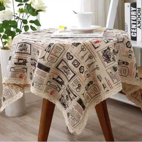 Wonderful Linen Table Cloth Tableclothes Print Dining Table Cover Kitchen Home  Textile Home Decor Zakka Hot Sale