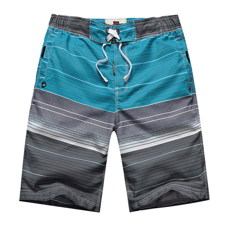 2017 Summer New Casual Bermuda Loose Quick Dry Boardshorts Good Quality Nine Colors Swimwear Men