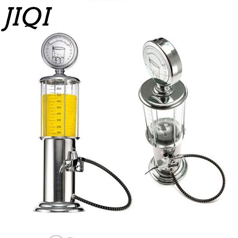 JIQI Hand Beer Machine Beverage Dispenser Wine Separator Mini Single Gun Pump Drinking Water Juice Alcohol Vessels For Bar Party