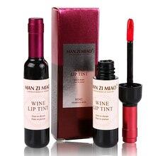 New Red Wine Bottle Lips Makeup Moisturizer Long Lasting Lip Gloss Matte Liquid Lipstick Waterproof Lip Tint Cosmetic