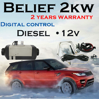 2KW Air Parking Heater 24V Diesel Similar With Webasto For Boats Buses Trucks Caravans Camping Trailers