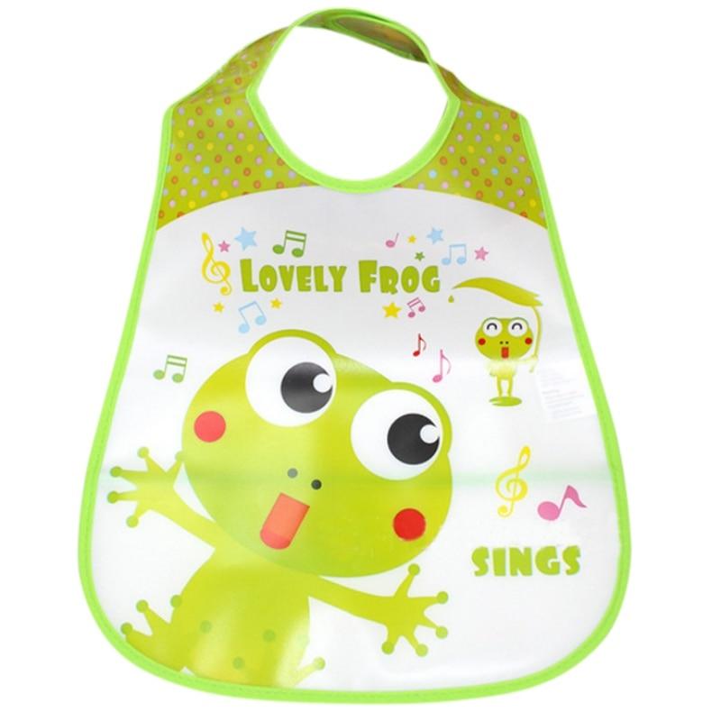 Newborn Baby Bibs Waterproof Silicone Feeding Baby Saliva Towel Cartoon Waterproof Aprons Baby Bibs New Arrival