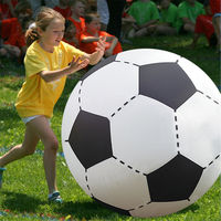 150CM Giant Inflatable Bouncing Beach Football Soccer Volleyball Ball Party Play Game Toy 60 inch Summer Outdoor Sports Toy