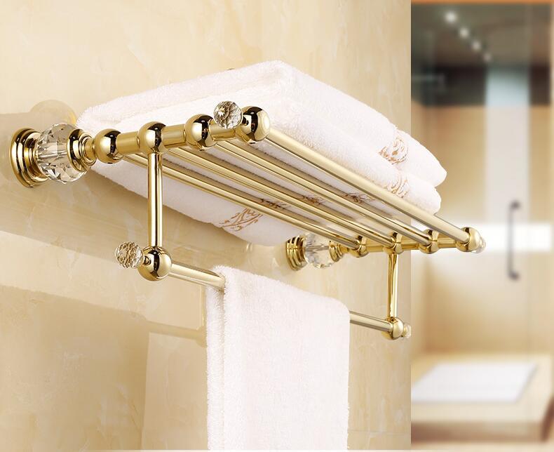 Badkamer Accessoires Goud : Top hoge kwaliteit massief messing goud afwerking badkamer