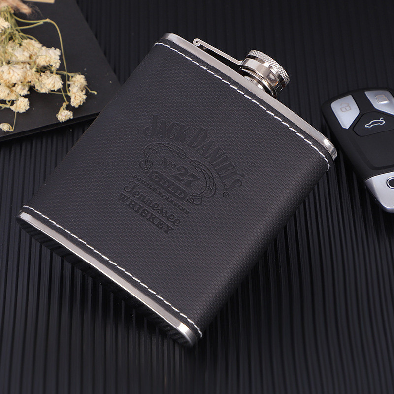 Portable фляга Stainless Steel Hip Flask Russian Wine Mug Wisky Bottle Drinkware Alcohol Bottle 7oz 8oz