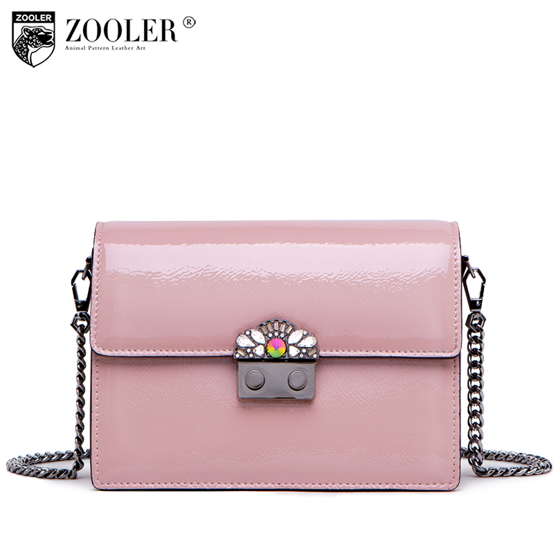 Top!New shoulder Bags type famous brands bags for women 2018 genuine leather woman bag ZOOLER functional bolsa feminina # y126