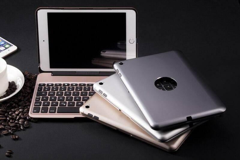 2800mah Battery Power Bank Backlight Russian/Hebrew/Spanish Wireless Bluetooth Keyboard Case For Apple Ipad Mini 4 Mini4 Tablet цена