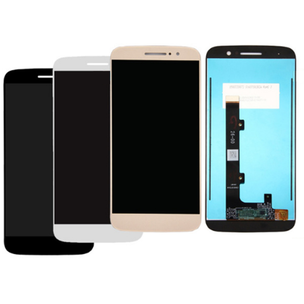 For Motorola Moto M <font><b>XT1662</b></font> XT1663 <font><b>LCD</b></font> Screen and Digitizer Assembly Replacement!!(Black/White/Gold) image