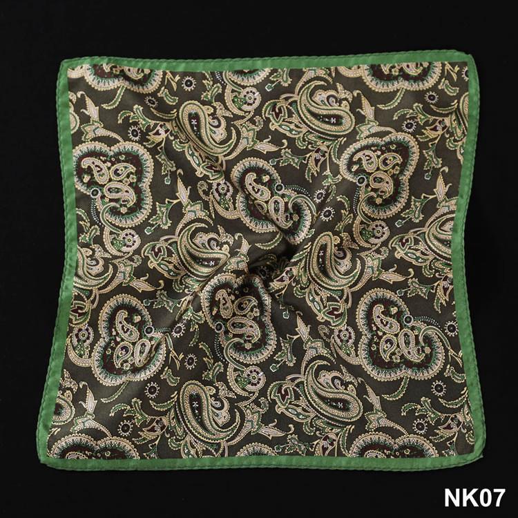 NK07 HN02G Green Yellow Paisley (2)