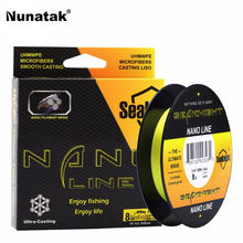 Seaknight nano 300 m PE Stranded Fishing Line 4 Wire Strands Super Strong line Japan Multifilament Stranded Fishing Lines 4-10lb
