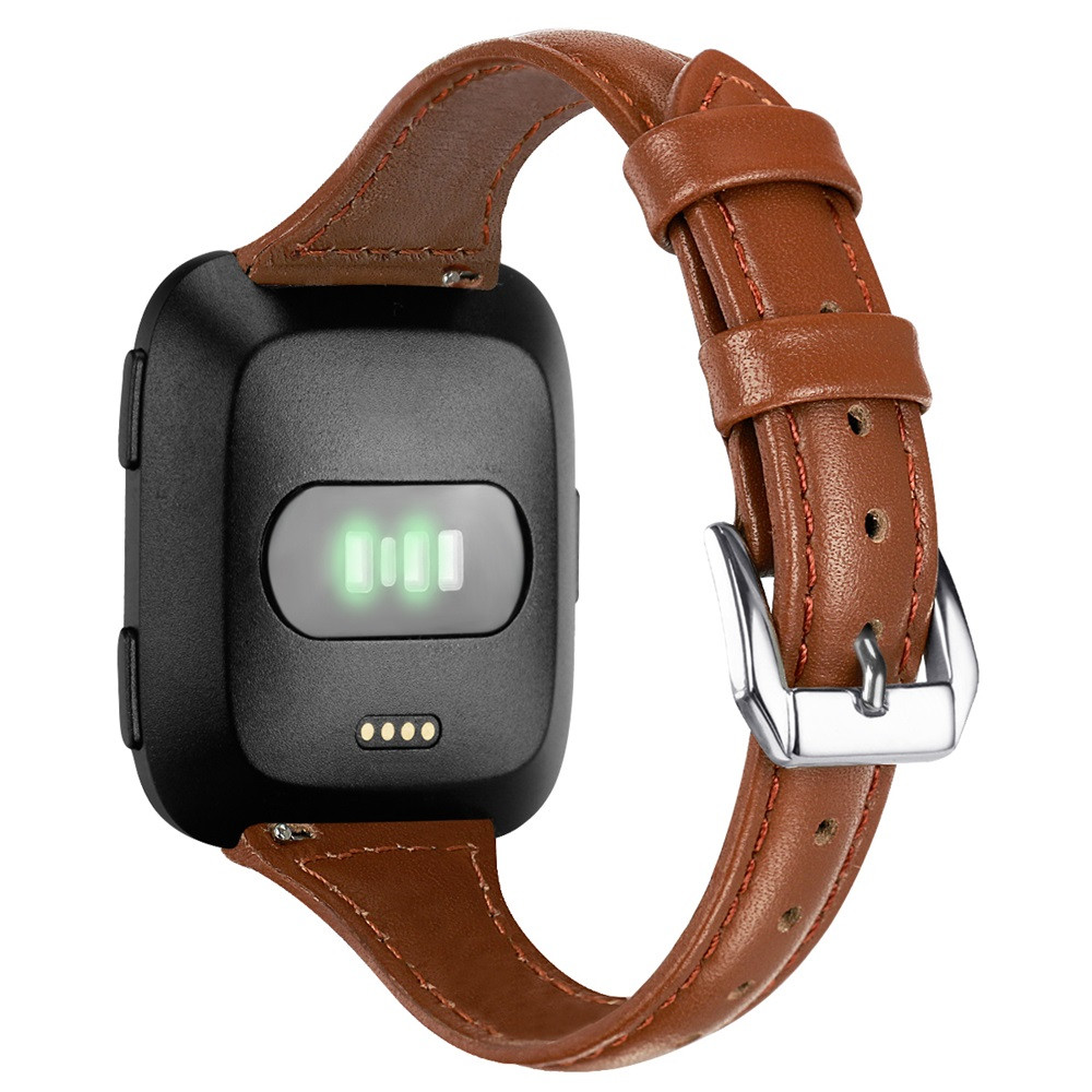 CARPRIE Strap For Fitbit Versa Bracelet Wrist Band Smart Accessories Elegant Soft Luxury Leather Replacement Wristband MA22f