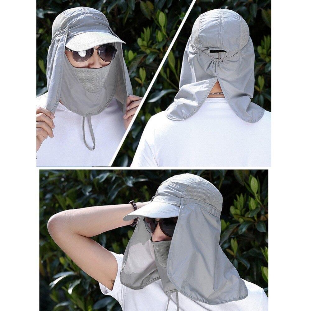 proteção uv rosto pescoço capa de pesca