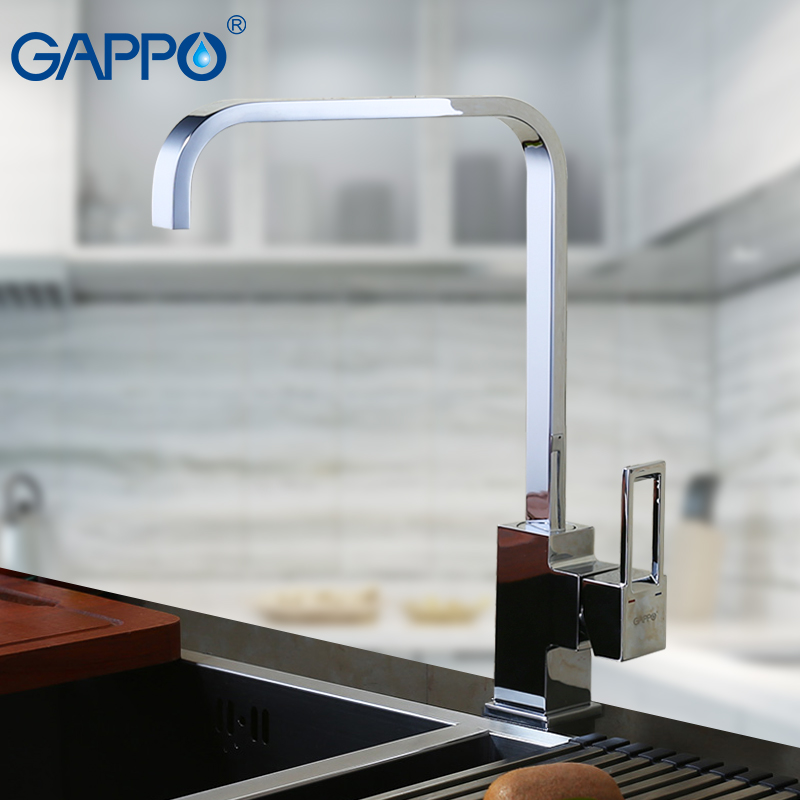 GAPPO Kitchen Faucet Brass Water Tap Pull Down Sink Mixer Torneira Deck Mounted Tap Kitchen Contemporary Kitchen Faucets Cozinha