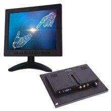 8 дюймов TFT lcd цветной видео монитор CCTV монитор экран VGA BNC AV вход для ПК CCTV безопасности дистанционного управления и стенд вращающийся экран