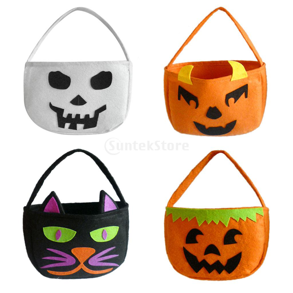 halloween party trick or treat bag kids gift loot sweet candy cello handbagchina - Kids Halloween Treat Bags