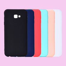 Fashion Candy Macaron Colors Soft TPU Case Phone Silicone Cover Skins Shell Coque Fundas Hull for Samsung Galaxy J4 Plus J6