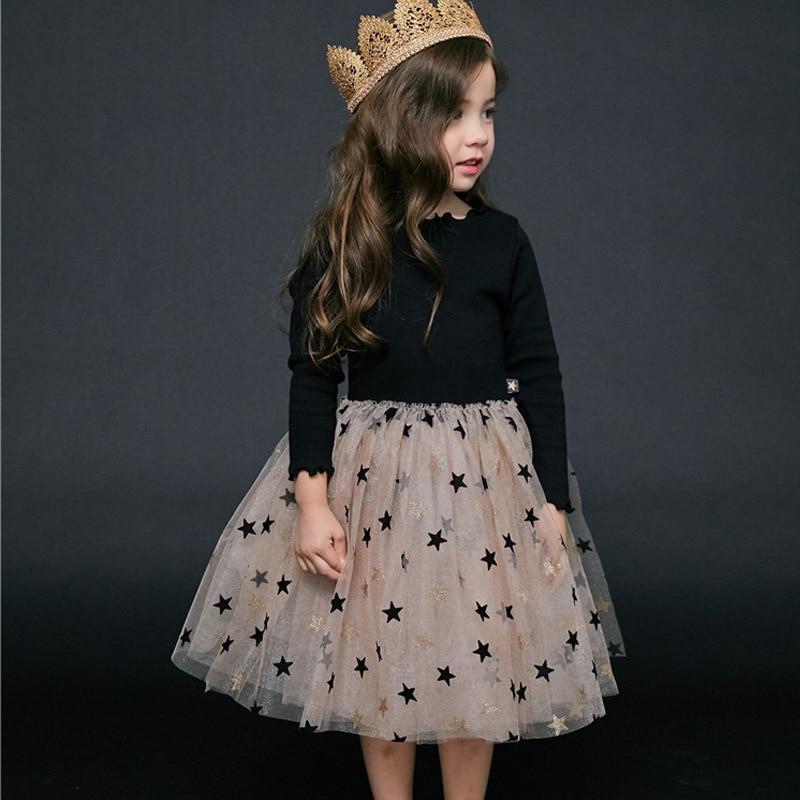 HTB16.7 aG5s3KVjSZFNq6AD3FXaM Bear Leader Girls Dress 2019 New Autumn Casual Ruffles A-Line Striped Full Sleeve Kids Dress For 3T-7T