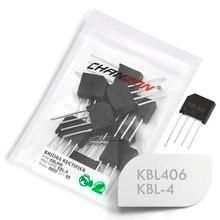 10 Pcs KBL406 Bridge Rectifier Diode 4A 600V KBL-4 (SIP-4) Single Phase Full Wave 4 Amp 600 Volt Silicon kbl 406