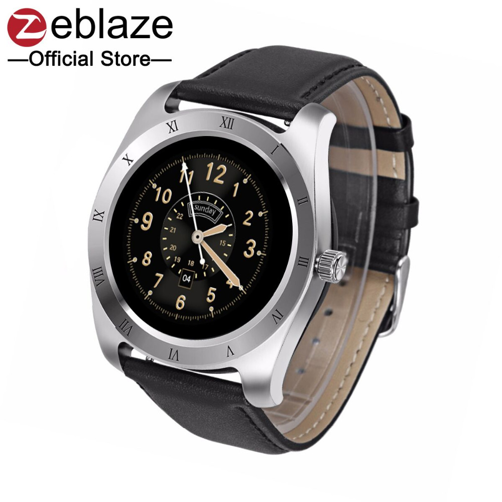 [Best Seller]Zeblaze Classic Smart Watch IPS Screen Support Heart Rate Monitor Bluetooth Smartwatch For IOS Android New Version bluetooth smart watch va01 1 22 inch ips hd display support heart rate monitoring message push for ios android phones