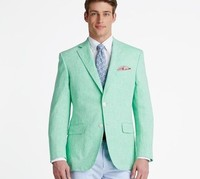 Tailor Made Mint Green Men Suits Casual Summer Beach Wedding Suits For Men Groom Best Man Party Prom Male Blazer Jacket Only New
